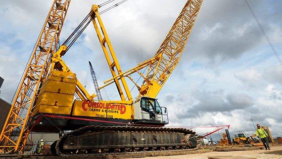 Gulf Coast Truck >> Consolidated Crane & Rigging