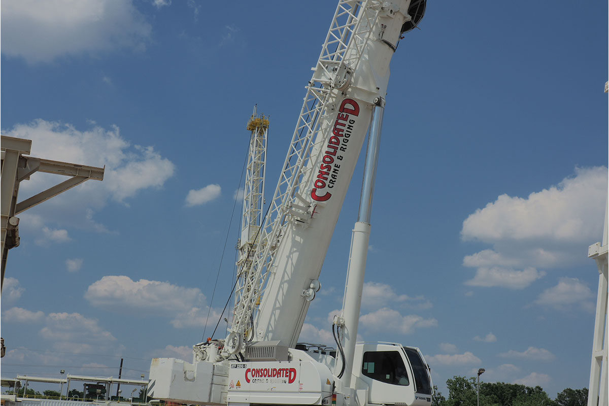 About Consolidated Crane & Rigging