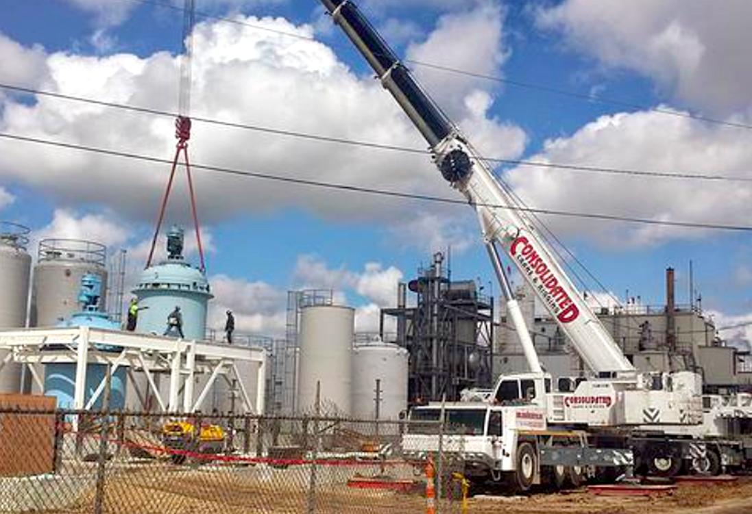Houston Crane and Rigging Service